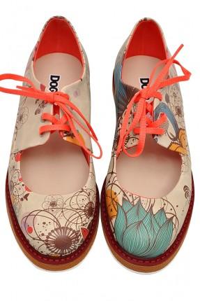 حذاء نسائي مفتوح - بيج