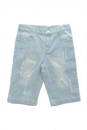 بنتاكور اطفال ولادي جينز - ازرق