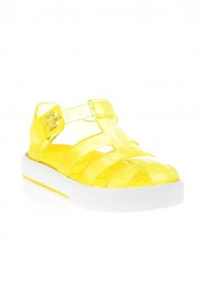 حذاء اطفال ولادي - اصفر