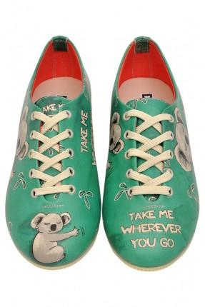 حذاء نسائي - اخضر