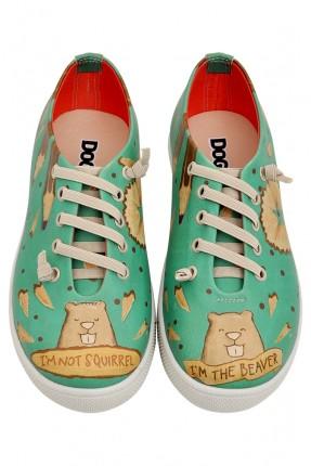 حذاء اطفال صورة قندس