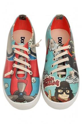 حذاء اطفال صورة كابتن طيارة