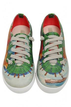 حذاء اطفال صورة الثعالب الصغار