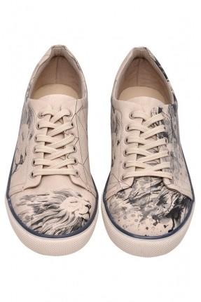 حذاء رجالي سبور صورة الملك الاسد