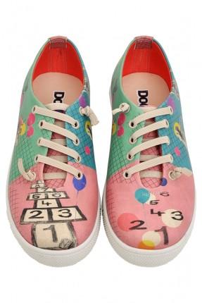 حذاء اطفال رسمة العاب