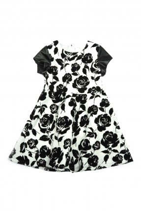 فستان اطفال بناتي - اسود