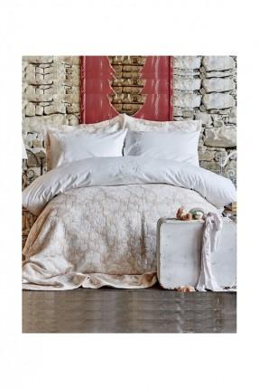 طقم غطاء سرير منقوش فاخر