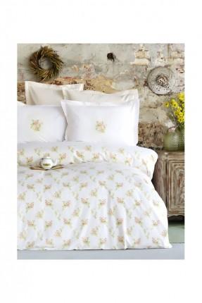 طقم / غطاء سرير فردي + غطاء وسادة + شرشف /