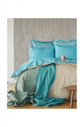 طقم غطاء سرير مفرد فاخر مع بطانية / 5 قطع /