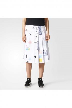 تنورة منقوشة adidas