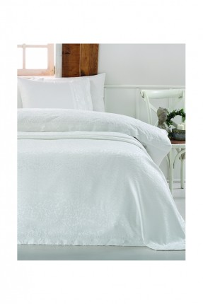 طقم غطاء سرير عرائسي دانتيل مع بطانية