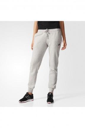 بنطال نسائي رياضي adidas - رمادي