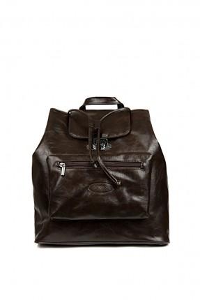 حقيبة ظهر رجالي - بني