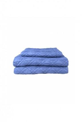 طقم غطاء سرير مفرد / 240 * 250 سم / ازرق