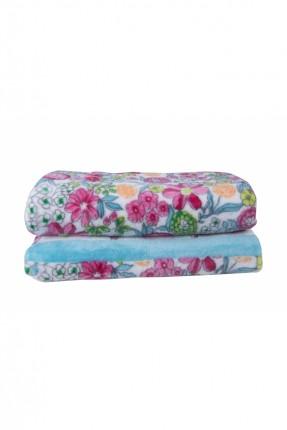 بطانية سرير مفرد ملون / 160 * 220 سم /