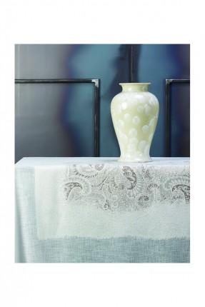 غطاء طاولة دانتيل / 150 * 260 سم /