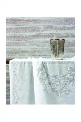 غطاء طاولة / 150 * 260 سم / ازرق