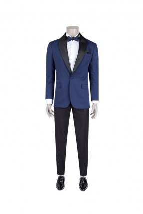 بدلة رجالي رسمية - ازرق