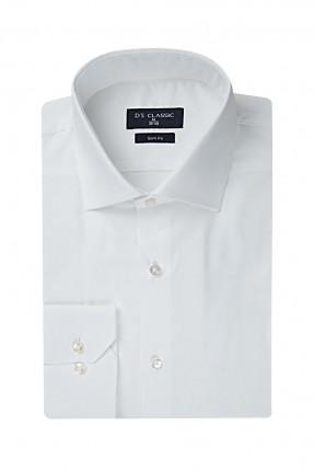 قميص رجالي - ابيض