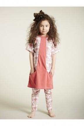 فستان اطفال بناتي مع جيوب