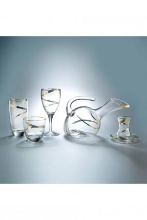 مجموعة زجاج للشرب / 61 قطعة /