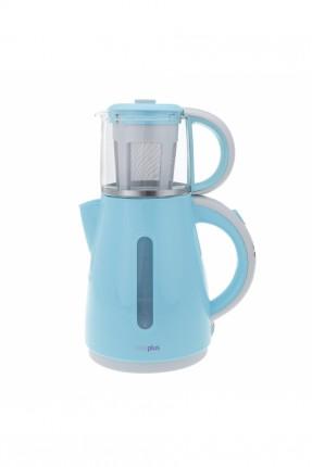 ماكينة شاي تركي / 1500 واط / ازرق