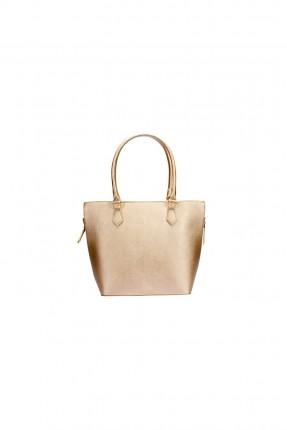 حقيبة يد نسائية - ذهبي