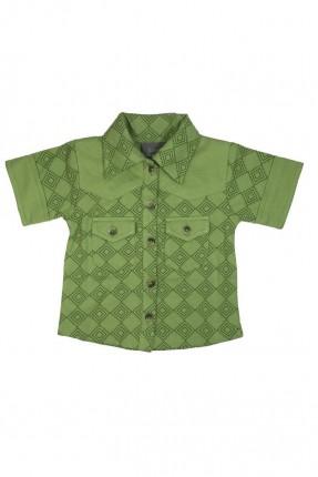 قميص اطفال ولادي منقش