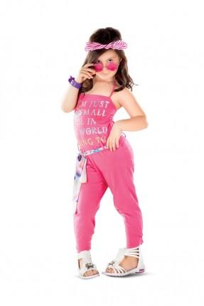 افرول اطفال بناتي - وردي