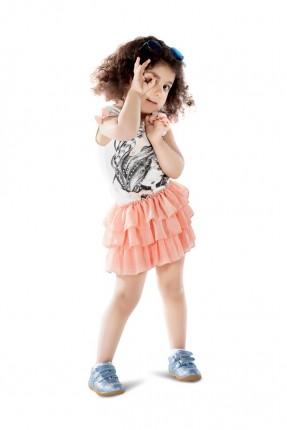 فستان اطفال بناتي كشكش