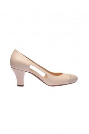 حذاء نسائي - بيج
