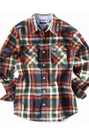 قميص اطفال ولادي  كارويات - برتقالي