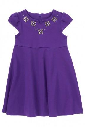 فستان اطفال بناتي - بنفسجي