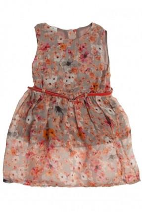 فستان اطفال بناتي منقوش ورد