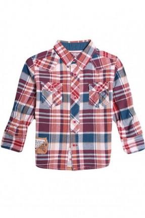 قميص اطفال ولادي  - احمر