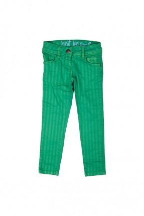 بنطال اطفال بناتي - اخضر