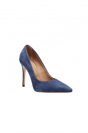 حذاء كعب نسائي - ازرق