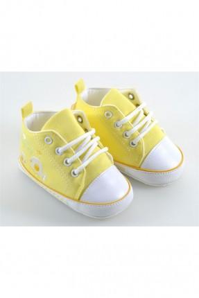 حذاء بيبي ولادي  - اصفر