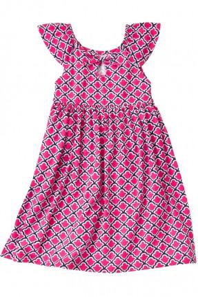 فستان اطفال بناتي منقوش