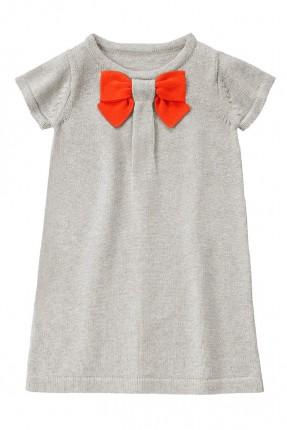 فستان اطفال بناتي - فضي