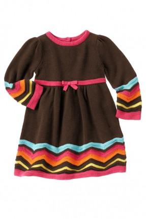 فستان اطفال بناتي تريكو