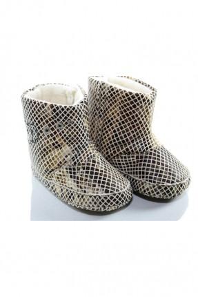 حذاء بيبي بناتي منقوش