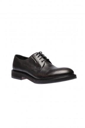 حذاء رجالي جلد - كحلي