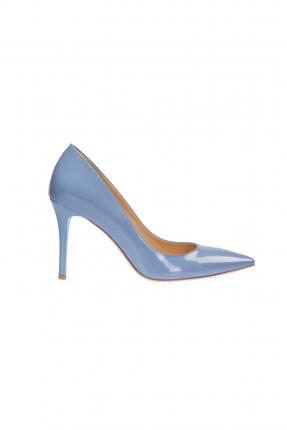 حذاء نسائي كعب - ازرق