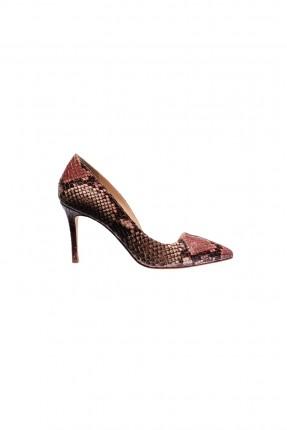 حذاء نسائي - زهري
