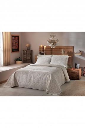 طقم غطاء سرير مزدوج مقلم