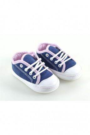 حذاء بيبي بناتي - ازرق
