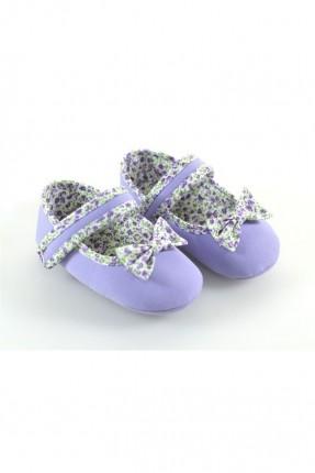 حذاء بيبي بناتي - موف