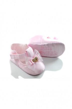 حذاء بيبي بناتي مع بكلة - زهري