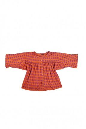 قميص اطفال بناتي كاروهات